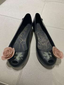 flats melissa limited edition beauty and the beast
