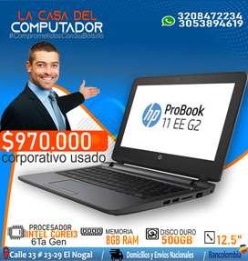 PORTATIL HP PROBOOK COREI3 DE 6TA GENERACION