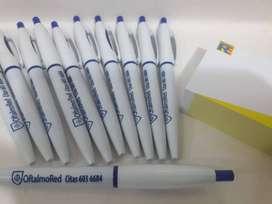 Bolígrafos serigrafiados a 1 color