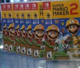 Super Mario Maker 2 Nintendo Switch Nuevo Sellado Stock