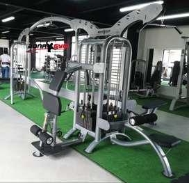 maquinas de gimnasio, bicicletas spinning, piso ,barras, pesas, mancu
