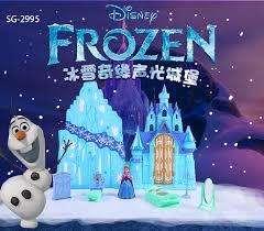 Castillo Princesa De Hielo Frozen Luces Sonidos 8 Accesorios
