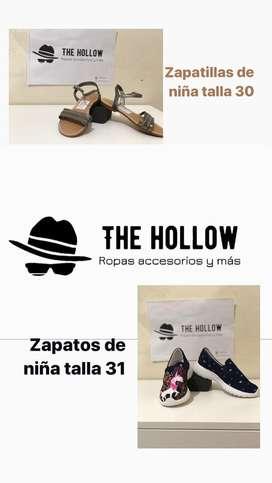 Zapatos y zapatillas para niñas