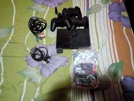 PS2 con muchos componentes