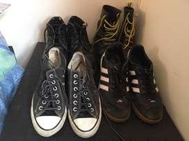 Combo zapatos usados