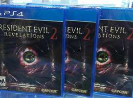 RESIDENT EVIL REVELATIONS 2 PS4 SELLADO