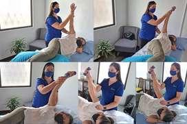 Se ofrecer servicios de Terapia Física a Domicilio