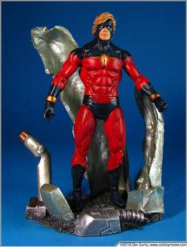 FIGURA CAPTAIN MARVELL MARVEL SELECT
