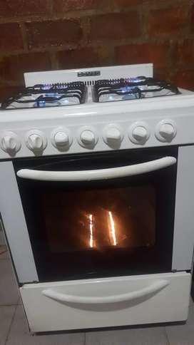 Cocina domex enlozada