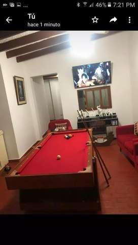 Mesa de billar y ping pong