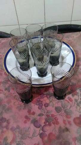 Cristaleria antiguas   vasos y copas