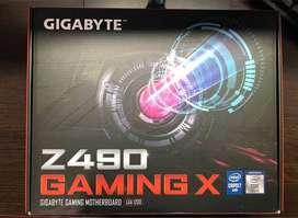 Board Gigabyte Z490 Gaming X 10th Geneación Intel
