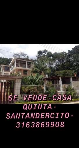 Venta o permuta Casa quinta en Santandercito cundinamarca