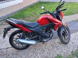 Vendo Honda CB 125 F Twister