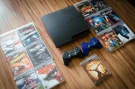 Play 3, ps3 original de Sony. 2 palancas nuevas inalámbricas, más de 2000 juegos digitales completos, 2 años de garantía