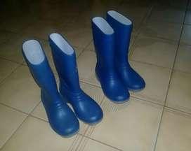 Botas de agua unisex nro 26