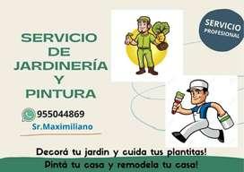 Servicio de Jardinería y Pintura