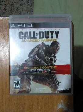 Película Cod Advanced Warfare Ps3