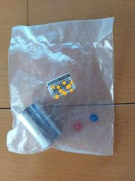 Capuchón plástico cromado con colores para llave de paso