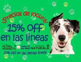 Alimentos - concentrado y accesorios para perros y gatos Hills Royal Pro plan Equilibrio Max Country Taste NutraNuggets