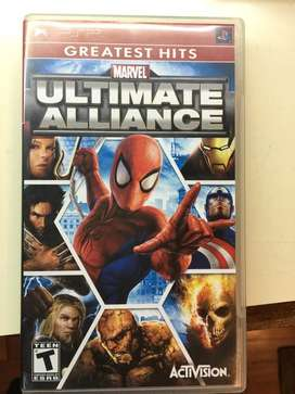 Juego Playstation Portable Psp Original - Ultimate Alliance