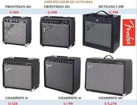 Amplificadores para guitarra Fender