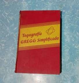Libro Antiguo de Taquigrafía