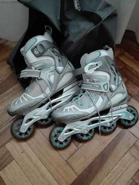 Rollers casi nuevos! talle 39