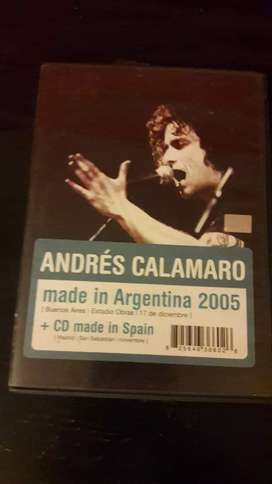 Dvd doble Andres Calamaro
