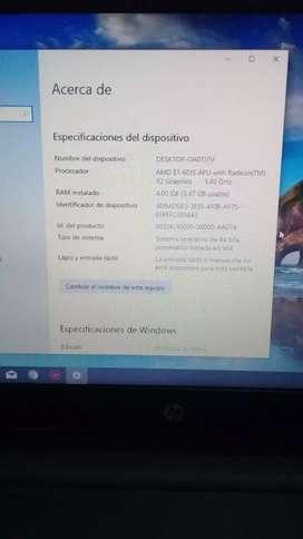 Computador HP portatil