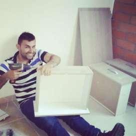 Armado Instalación Muebles Modulares Bga