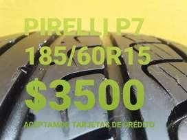 Neumaticos pirelli p7 185/60r15