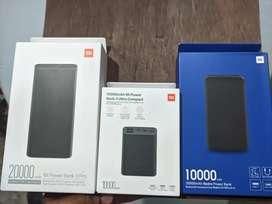Xiaomi baterías portátiles carga rápida