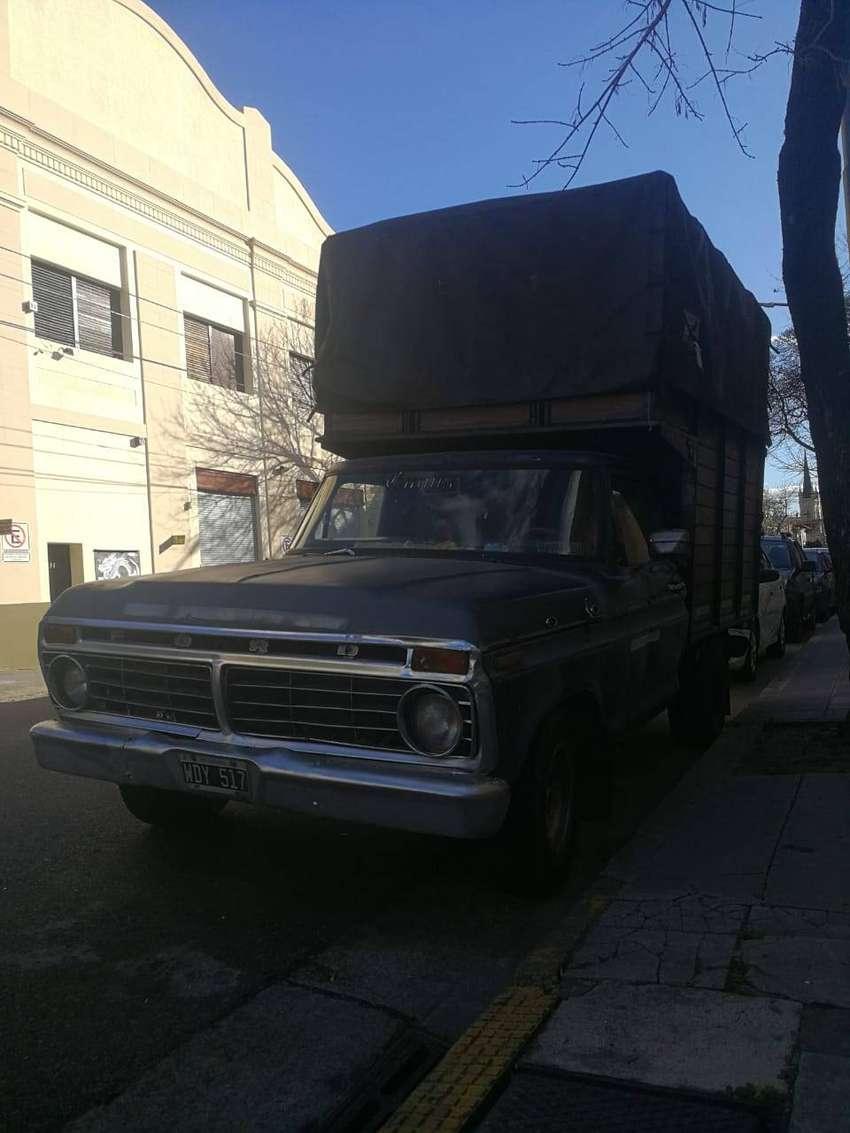 Camioneta ford f100 mod.73 0