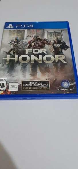 Vendo For Honor de Ps4