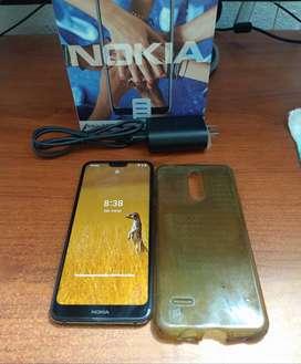 Nokia 7.1 Android 10  64GB Memoria 4GB de RAM  (Incluye, Caja, Factura y Cargador) Precio Negociable