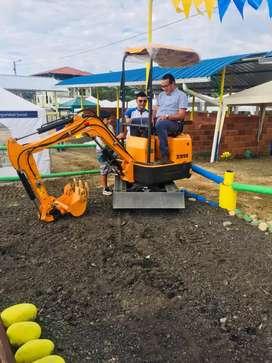 Vendo Mini Excavadora 2018