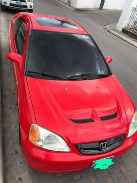 Vendo o cambio por un Corolla 2014 o civic 2015  Honda Civic Coupe  Deportivo 3500 negociable