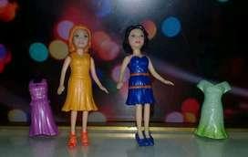 Polly Pocket : Lila y Crissy (Mattel)
