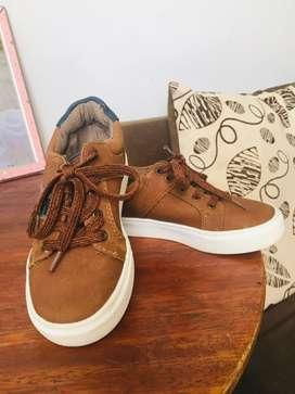 Vendo zapatos usados talla 27