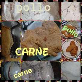 Vendo milanesa fresqita de pollo y carne  a 160 de pollo y 190 d carne