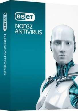 Venta de licencias antivirus Eset Nod 32 Antivirus  Garantía de un año.