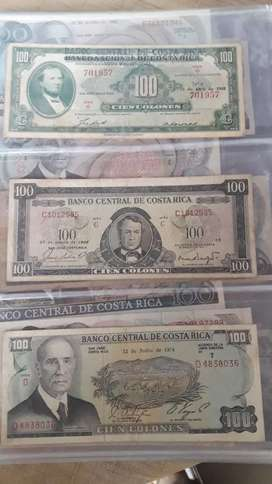 Billetes de Costa Rica