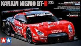 Tamiya Xanavi Nismo GT-R R35 Nissan 1/24 Auto Armar