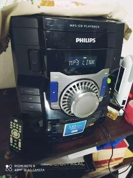 Equipo de música Phillips 330Wrms  4000w