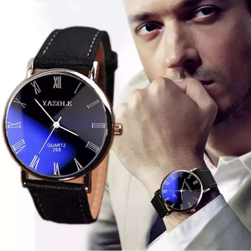 Reloj Elegante Ejecutivo Hombre Negocios, Ilusion Of Time Men