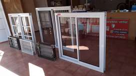 Ventana de aluminio blanco 1x1n