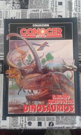 Revista Conocer Y Saber Colección Año 1991 El Mundo Secreto De Los Dinosaurios