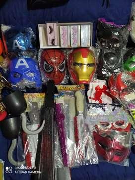 Accesorios varios de Halloween