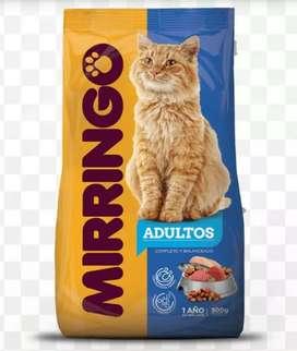 Alimento para Gato Mirringo 8kg